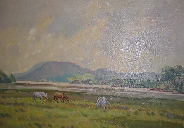 The Three Ponies by Robert Taylor Carson