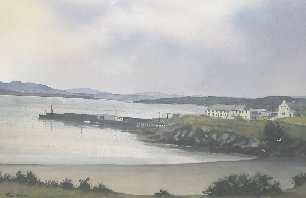 Downings Harbour, Co. Donegal by Paul Holmes
