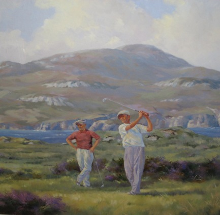 The Long Drive, Dunfanaghy by Hamilton Sloan