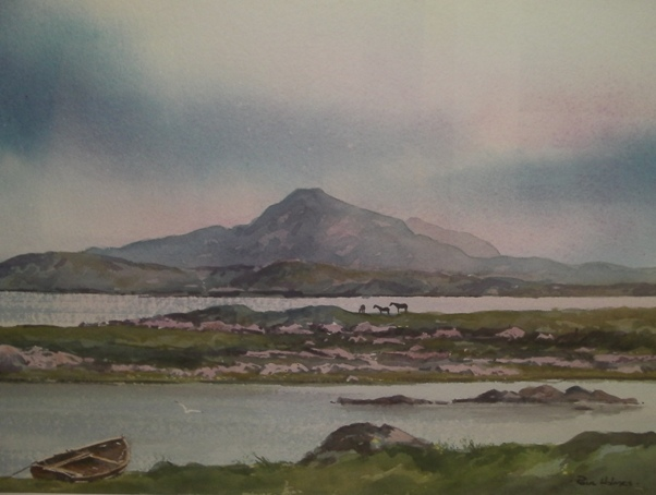 The Lakes of Connemara by Paul Holmes
